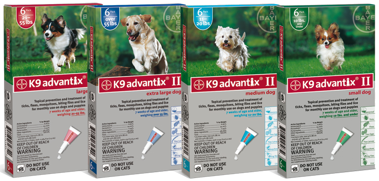 Bayer Advantix II range